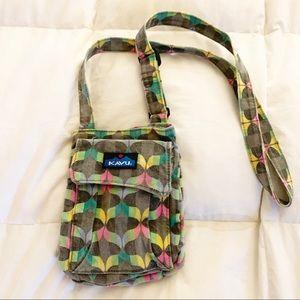 KAVU crossbody acid wash/colored bag